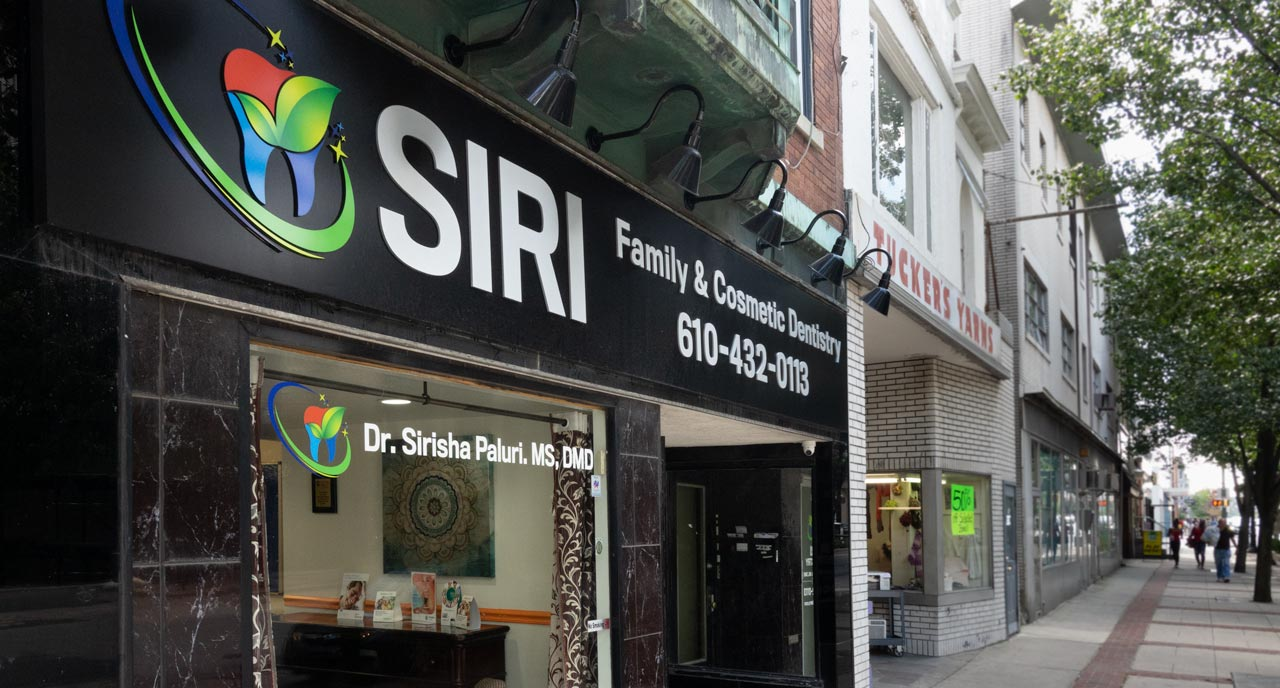 Siri Family & Cosmetic Dentistry exterior